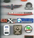 ENAMEL CARS:GRILL BADGES2